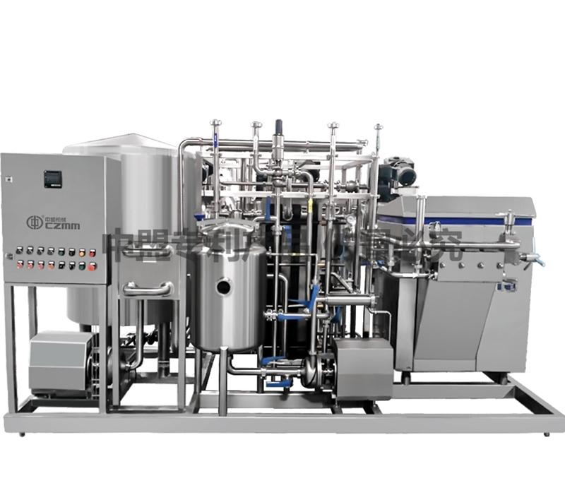 发酵奶专用杀菌系统 (四段式)
